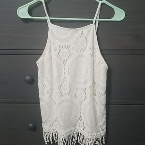 Off white tanktop